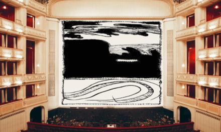 Der Eiserne Vorhang der Wiener Staatsoper