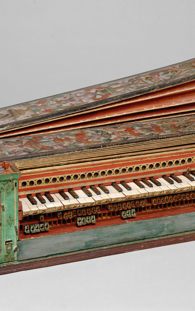 Das virtuelle Museum für Instrumente: Tasteninstrumente