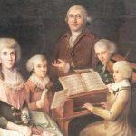 Mozart's erster und letzter Auftritt
